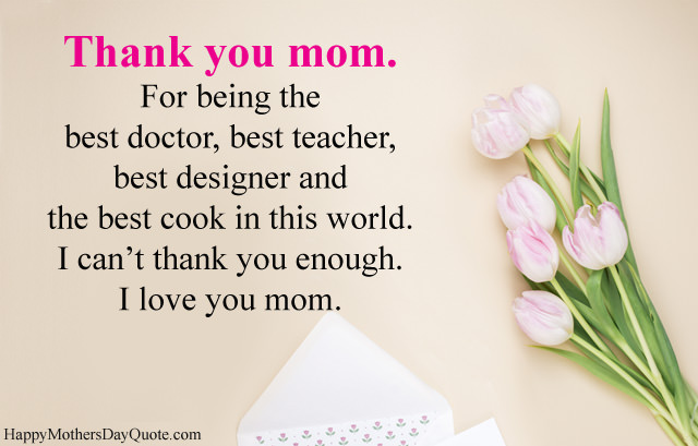 Inspirational Mother Appreciation Images With Thank You Msgs ...