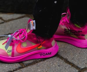 fluor, nike, and shoes image