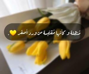 flower, tulip, and أصفر image