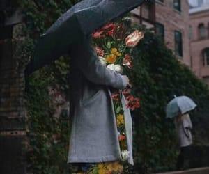 aesthetic, umbrella, and love image