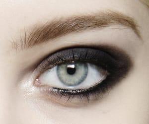 fashion and black eye shadow image