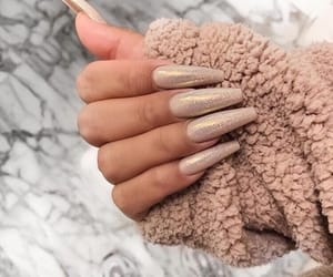nails, inspiration, and glitter image