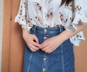 clothes, outfit, and koreanfashion image