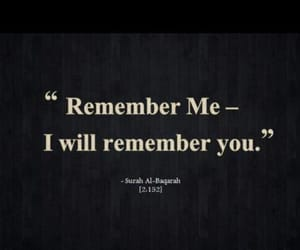 islam, quran, and remembrance image