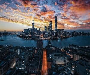 city, travel, and shanghai image