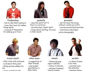 boys, glee, and porcelain image