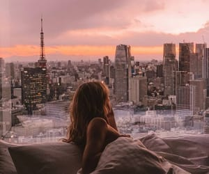 girl and view image
