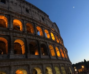 ancient, colosseum, and travel image