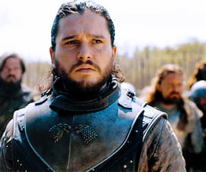 gif, game of thrones, and kit harington image