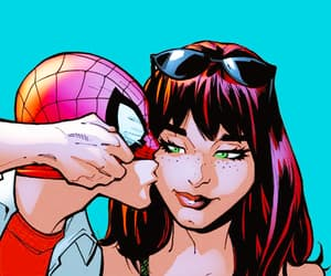 Marvel, peter parker, and mary jane watson image