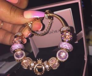 pandora, bracelet, and jewelry image