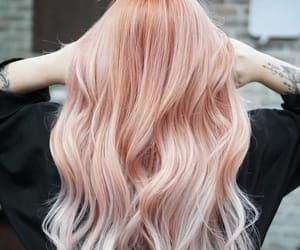 peach hair color image