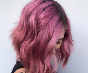 metalic rose hair color image