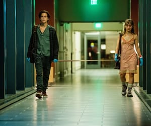 cole sprouse, haley lu richardson, and five feet apart image