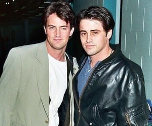 friends, Matthew Perry, and 90's image