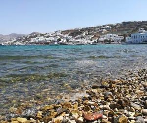 blue, coast, and Greece image