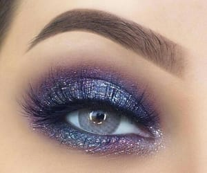 elegant, eye, and makeup image