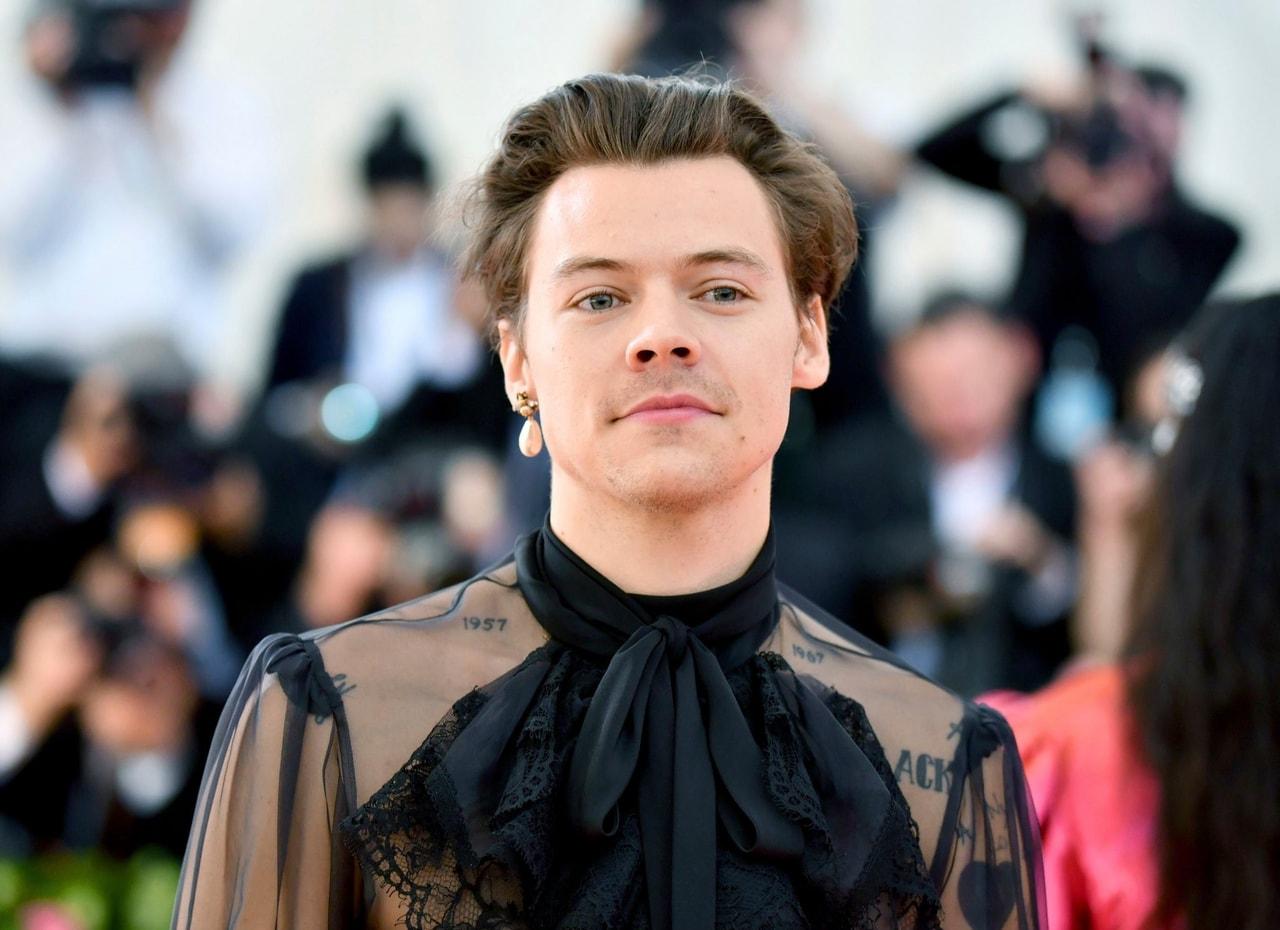 met gala and Harry Styles image