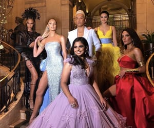 halsey, met gala, and camila mendes image