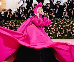 Lady gaga, red carpet, and met gala image