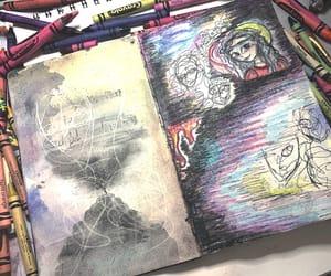 art, emotion, and art journal image