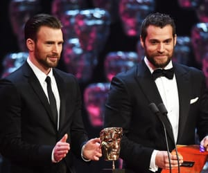 Henry Cavill, chris evans, and superman image