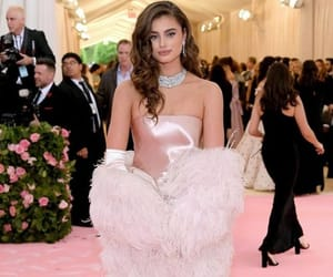 taylor hill, fashion, and met gala image