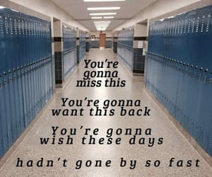 high school, highschool, and quotes image