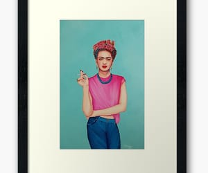 famous, Frida, and kahlo image