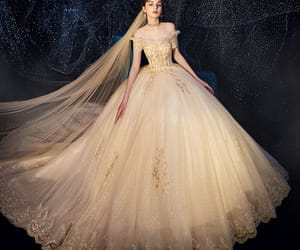 bridal, wedding dresses, and bridal gown image