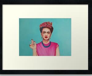 frida kahlo, mexico, and plaited hair image