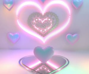 aesthetic, neon, and pink image