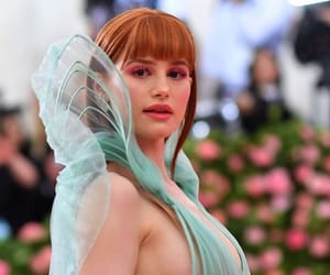 met gala and madelaine petsch image