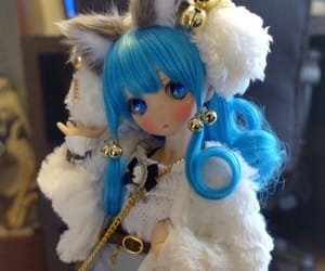 ball jointed doll, neko, and doll image
