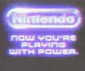aesthetic, nintendo, and purple image