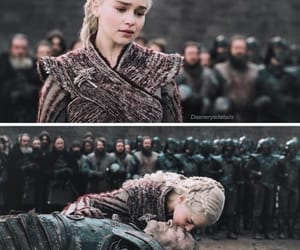 game of thrones, daenerys targaryen, and jorah mormont image