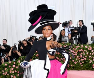fashion, janelle monae, and MET image