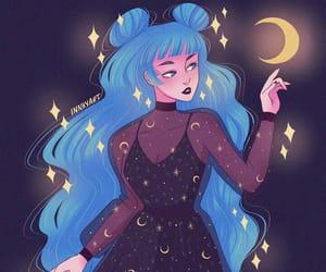 background, black, and blue image