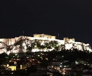 acropolis, Athens, and beauty image