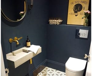 bathroom, design, and industrial image