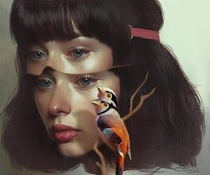 abstract, girl, and surreal image