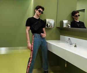boys, Calvin Klein, and manu rios image