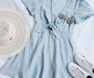 blue, clothes, and hat image
