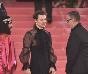 Harry Styles and met gala image
