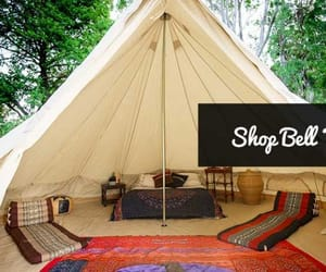 bell tents, bell tents australia, and glamping tents image