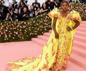 Couture, gown, and Serena Williams image