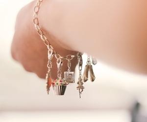 ballerina, bracelet, and cute image