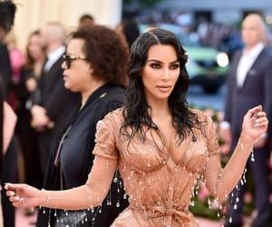 Kim Kardashian at the 2019 #MetGala