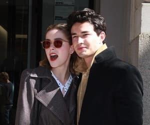 kiernan shipka and gavin leatherwood image