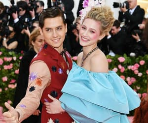 met gala, cole sprouse, and lili reinhart image